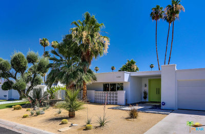 Palm Springs Single Family Home For Sale: 2290 South Alhambra Drive