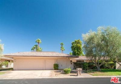 Rancho Mirage Single Family Home For Sale: 47 Cornell Drive