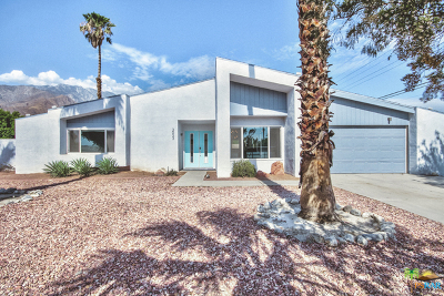 Palm Springs Single Family Home Contingent: 3033 North De Anza Road