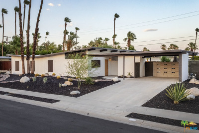 Palm Springs CA Single Family Home For Sale: $799,000