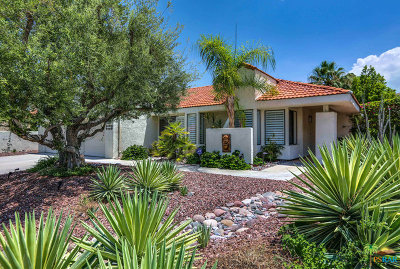 Palm Springs Single Family Home Contingent: 2795 Alondra Way