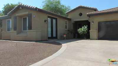 Indio Single Family Home For Sale: 80785 Mountain Mesa Drive
