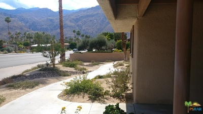 Palm Springs Condo/Townhouse For Sale: 1268 East Ramon Road #3