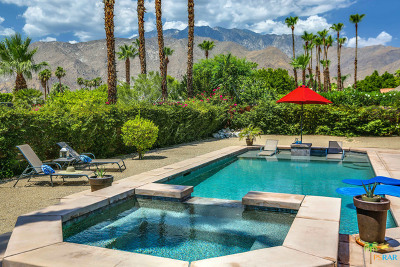 Palm Springs Single Family Home For Sale: 1103 East El Cid