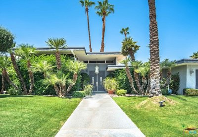 Indian Wells Single Family Home Contingent: 45665 Camino Del Rey