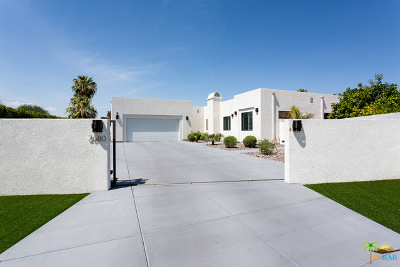 Palm Springs CA Single Family Home For Sale: $1,225,000