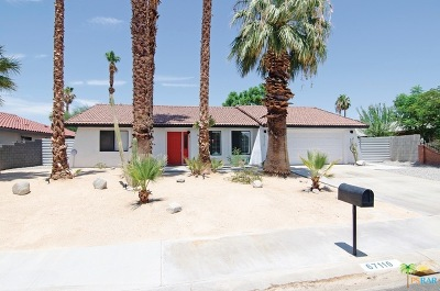 Cathedral City Single Family Home Contingent: 67110 Quijo Road