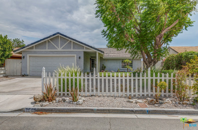 Palm Springs Single Family Home For Sale: 3525 Arnico Street