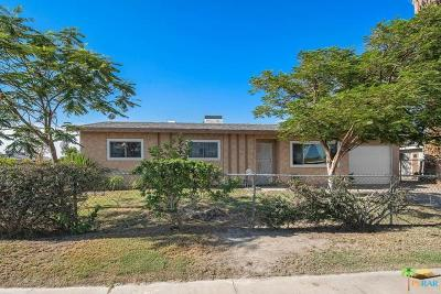 Indio Single Family Home Contingent: 83636 Cardinal Avenue