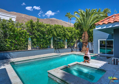 Palm Springs Single Family Home For Sale: 1777 South Mesa Drive