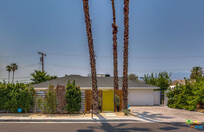 Palm Springs Single Family Home Contingent: 3963 East Calle San Antonio