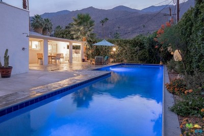 Palm Springs Single Family Home For Sale: 472 East Avenida Hokona