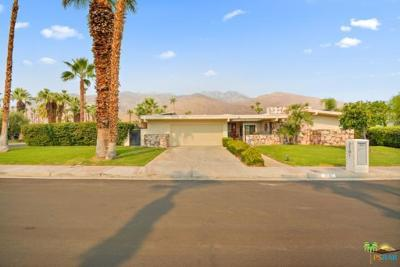 Palm Springs Single Family Home Contingent: 2101 South Madrona Drive