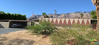 Palm Springs CA Single Family Home For Sale: $630,000