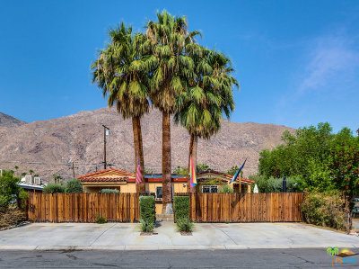 Palm Springs Multi Family Home Contingent: 583 South Calle Abronia