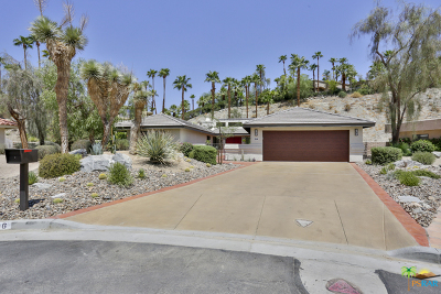 Rancho Mirage Single Family Home Contingent: 6 Saturn Circle