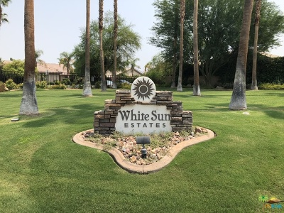 Rancho Mirage Single Family Home Contingent: 43 White Sun Way