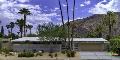 Palm Springs Single Family Home Contingent: 699 West Regal Drive