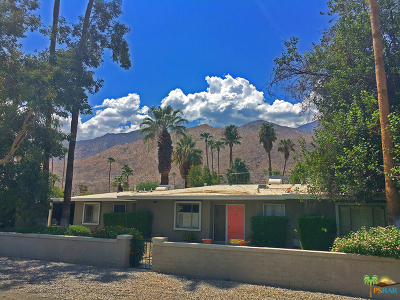 Palm Springs Single Family Home For Sale: 1555 South Indian