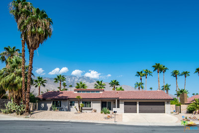 Palm Springs Single Family Home Contingent: 1575 South San Mateo Drive