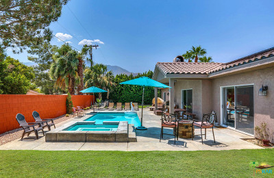 Palm Springs Single Family Home For Sale: 2885 East Sandia Road