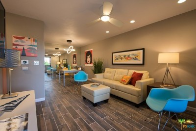 Palm Springs Condo/Townhouse For Sale: 2801 East Los Felices Circle #207