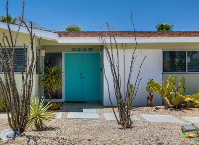 Palm Springs Single Family Home For Sale: 2955 North Bahada Road