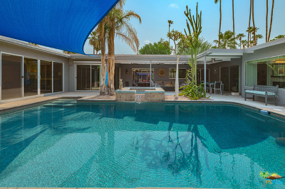 Palm Springs Single Family Home For Sale: 1243 South Sagebrush Road