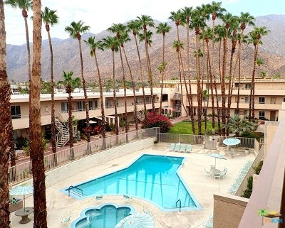 Palm Springs Condo/Townhouse For Sale: 277 East Alejo Road #P11