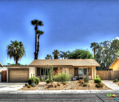 Palm Desert Single Family Home Contingent: 77575 California Drive