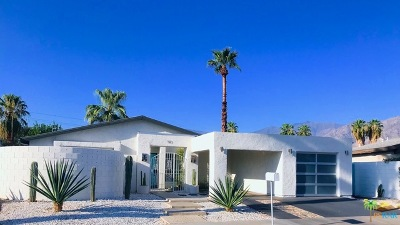 Palm Springs CA Single Family Home For Sale: $509,000