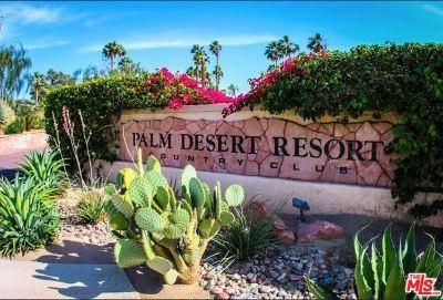 Palm Desert Condo/Townhouse For Sale: 41425 Preston #01-12