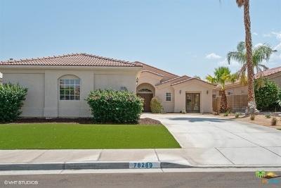Single Family Home Sold: 78289 Desert Mountain Circle