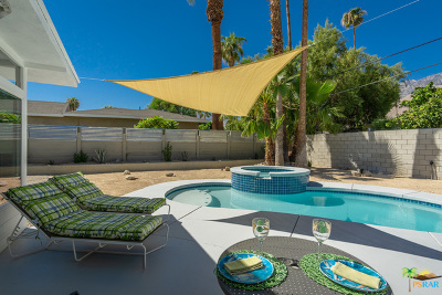 Palm Springs Single Family Home For Sale: 1245 South Sunrise Way