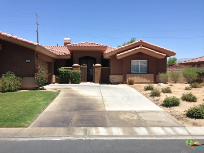 Rancho Mirage Single Family Home For Sale: 155 Saint Thomas Place