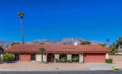 Palm Springs Single Family Home Contingent: 2045 South Pebble Beach Drive
