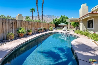 Palm Springs Single Family Home For Sale: 1351 East Gem Circle