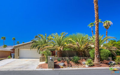 Palm Desert Country Single Family Home Contingent: 76740 Oklahoma Avenue
