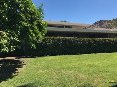 Cathedral City, Palm Springs Rental For Rent: 2443 Paseo Del Rey