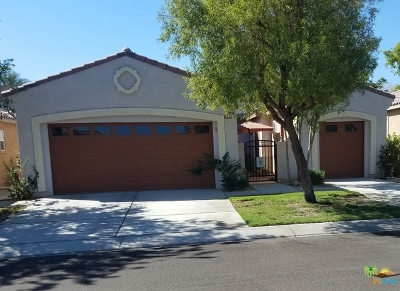 Indio Single Family Home Contingent: 82151 Burton Avenue