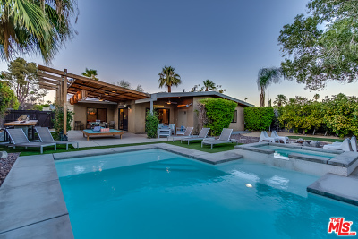 Palm Springs CA Single Family Home For Sale: $825,000