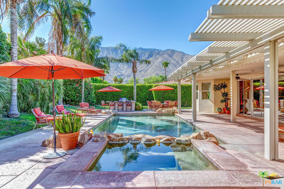 Palm Springs CA Single Family Home For Sale: $850,000