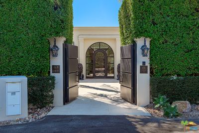 Palm Springs Single Family Home For Sale: 475 East Valmonte Sur