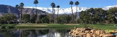 Rancho Mirage Single Family Home Sold: 12 Mount Holyoke