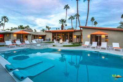 Palm Springs CA Single Family Home For Sale: $1,175,000