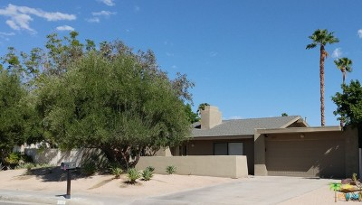 Palm Springs Single Family Home For Sale: 804 East Louise Drive