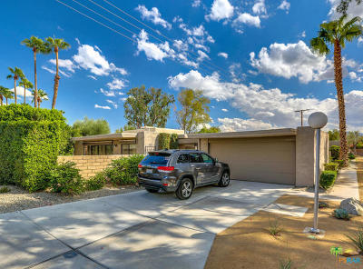 Palm Springs Condo/Townhouse For Sale: 1749 East Sandalwood Drive
