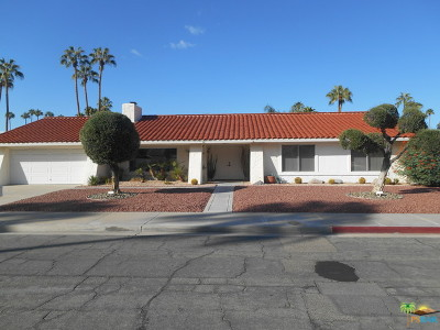 Palm Springs Single Family Home Contingent: 2294 East Conchita Way