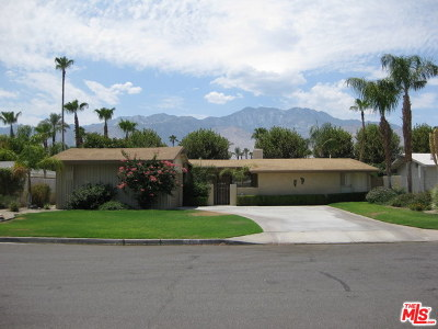 Palm Springs Single Family Home Contingent: 2463 South Broadmoor Drive