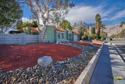 Palm Springs Single Family Home Contingent: 1395 East Via Escuela